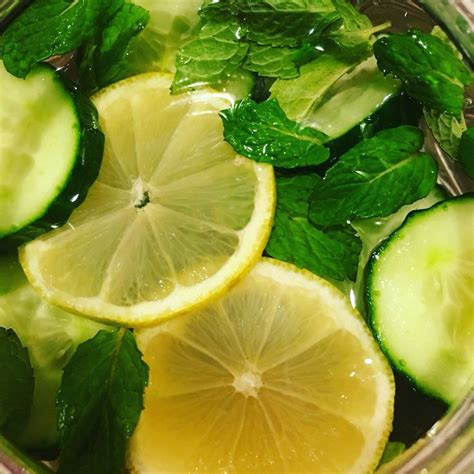 To Make A Gallon Of Detox Water by Detox Water Made With 1 Gallon Of Water 1 Cucumber 1 Lemon