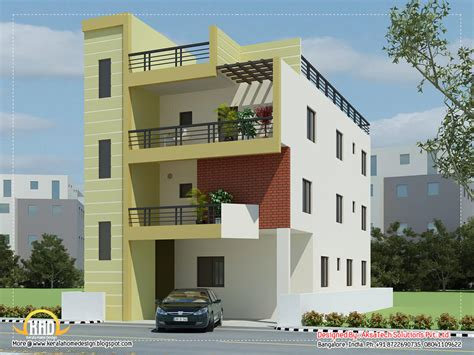 3 bedroom house plan elevation 2d elevations modren houses interior design ideas