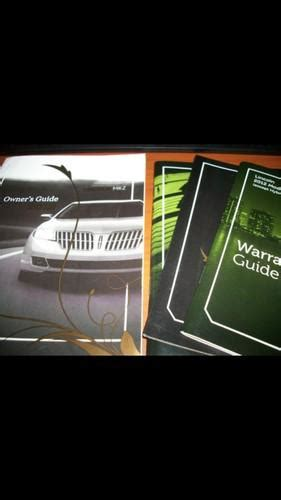 2011 lincoln mkz manual buy 2011 lincoln mkz owners manual motorcycle in