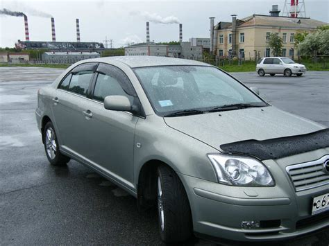 Toyota Avensis 2006 Manual 2006 Toyota Avensis Pictures 1 8l Gasoline Ff Manual