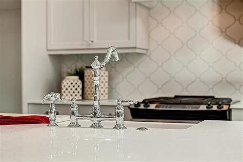 white kitchen white backsplash kitchen with arabesque backsplash transitional kitchen