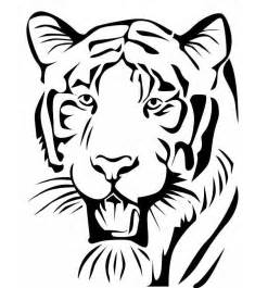 Tiger Template Printable by 60 Tiger Shape Templates Crafts Colouring Pages Free
