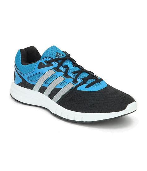 adidas galaxy 2 blue and black running shoes