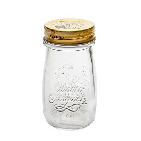 Quattro Stagioni Jar W Lid 1l quattro stagioni bottle 200ml w top lid 12 2663227