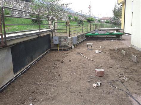 rifacimento terrazzo rifacimenti con manti sintetici in pvc imperbau snc