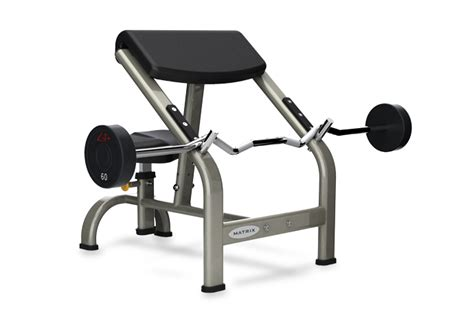 bench preacher curl matrix preacher curl bench g3 fw40 johnson fitness