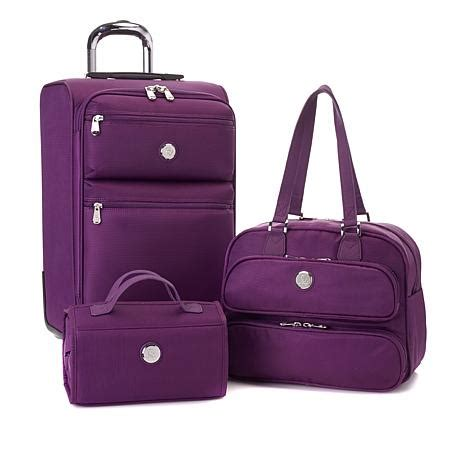 beautiful suitcases joy first class tufftech luggage collection with spinball