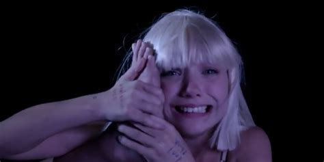 Sia Chandelier Song Meaning Watch Maddie Ziegler In Sia S Quot Big Girls Cry Quot Music