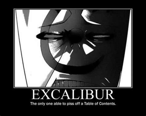 Soul Eater Excalibur Meme - excalibur on soul eater memes deviantart