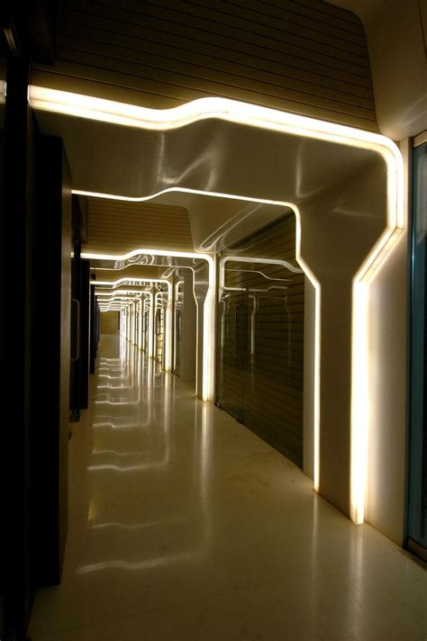interior lighting world by arris architects india