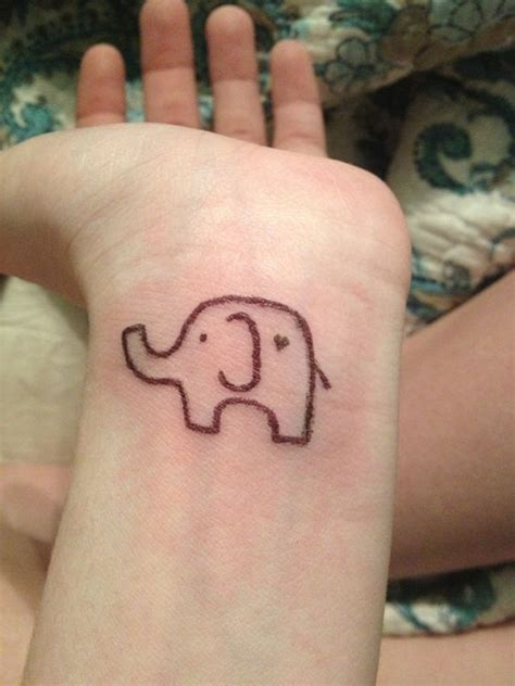 elephant wrist tattoos 85 tiny elephant designs
