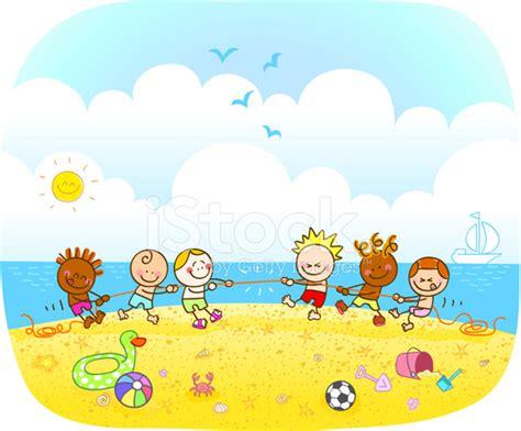 imagenes niños felices jugando ilustraci 243 n de dibujos animados de ni 241 os felices jugando