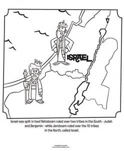 israel judah bible coloring pages bible