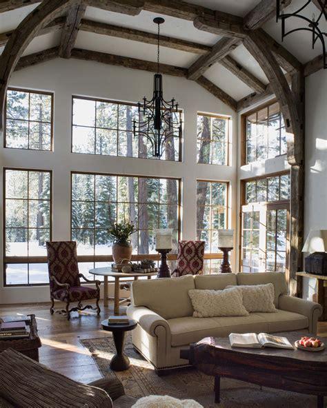 provincial interior design martis c ski chalet macfee design lake tahoe