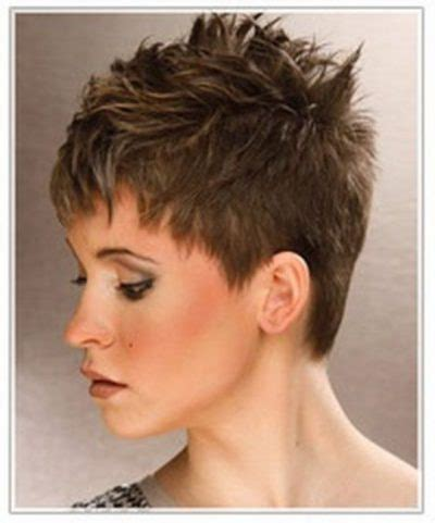 hot short spiky hairstyles the stylish as well as beautiful short spikey womens
