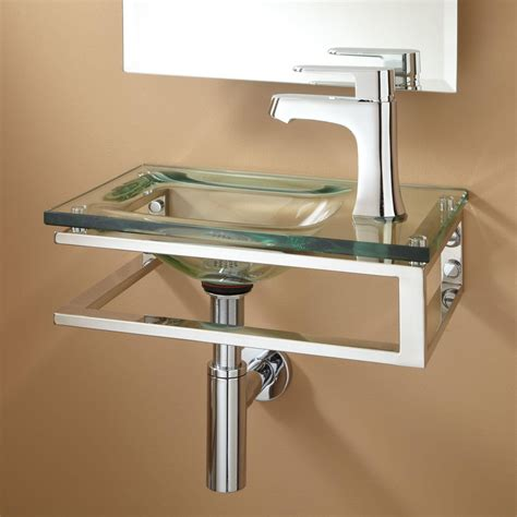 wall mounted basin bangor wall mount glass bathroom