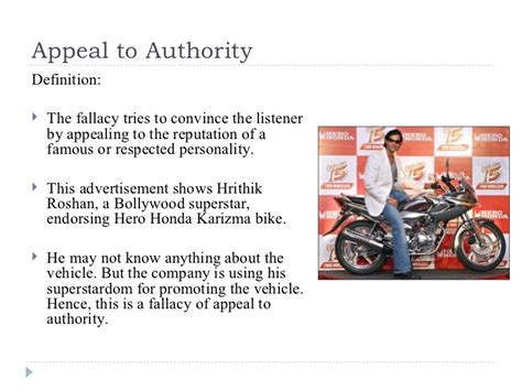 celebrity fallacy definition fallacies in advertisements