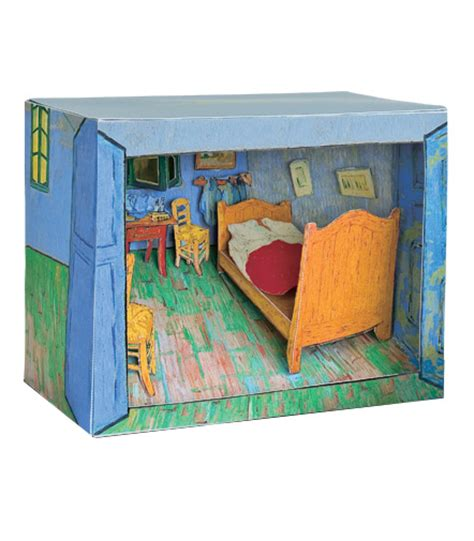 Gift Ideas For Kitchen Tea by Vincent Van Gogh Bedroom In Arles Diorama Second State