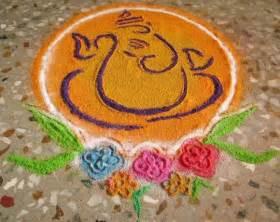 Home Decor For Diwali ganpati rangoli designs for diwali 2013 2014