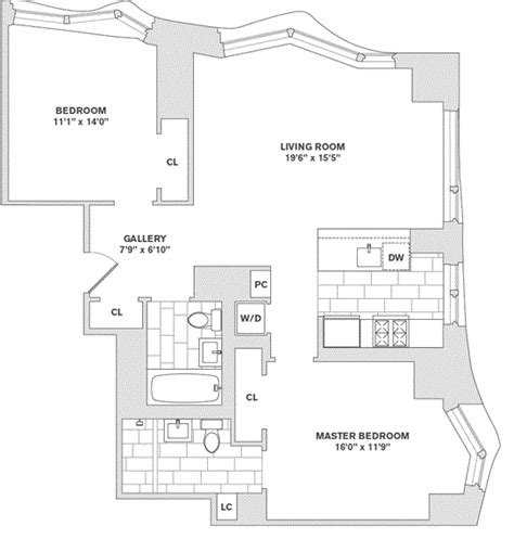 8 Spruce Street Floor Plans | 8 spruce street apartments for rent in financial