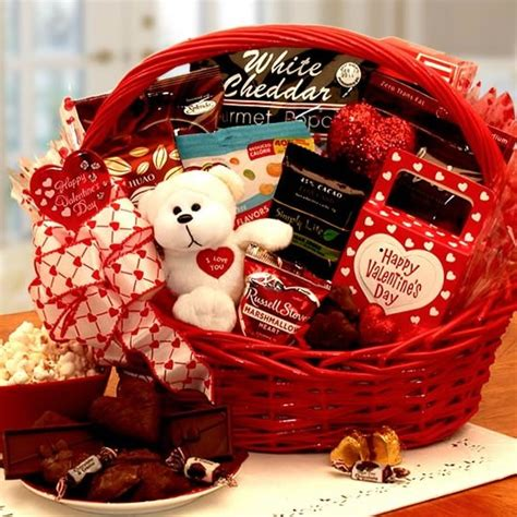 sugar free gift basket valentines day gifts