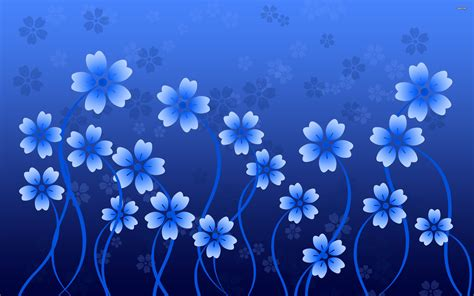 wallpaper blue flowers design beautiful blue flowers vector design wallpapers new hd