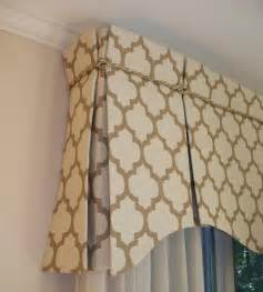 Box Pleat Valance Open Top Inverted Box Pleat Drapery