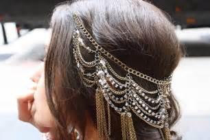 hair chains aival fashion trend report chain hair accessories