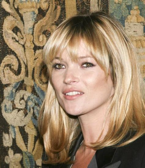 Kate Moss Cuts Bangs Em Or Em by The Fringe With Ferricchia December 2011
