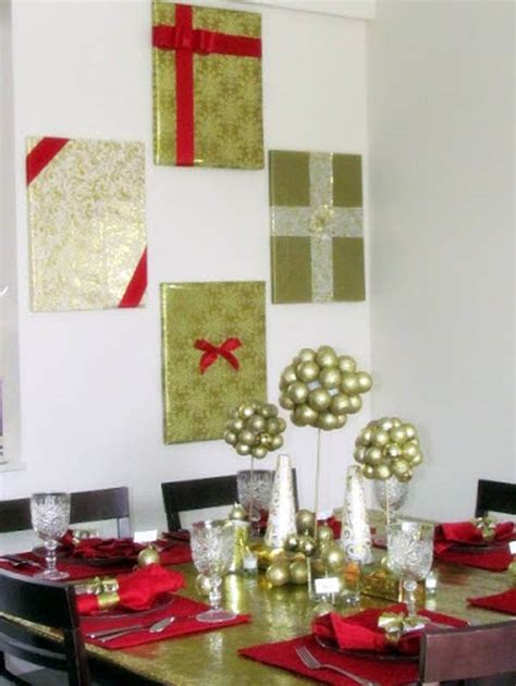 christmas wall decorating ideas christmas wall decorations ideas to deck your walls