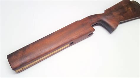 remington 700 target wood stock bedded