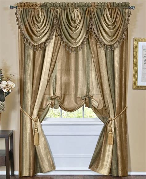 sheer ombre curtains ombre sheer tailored panels blue achim window treatments