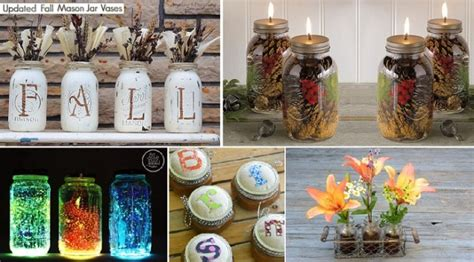 mason jar home decor ideas diy 101 mason jar decor ideas home design garden