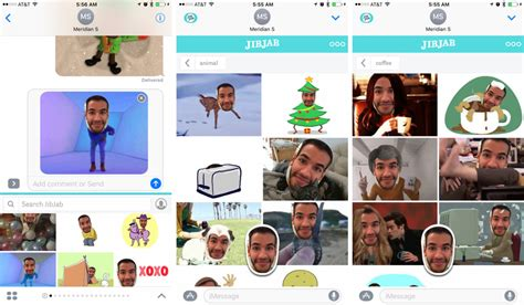 jibjab free best imessage apps and sticker packs for ios 10 so far