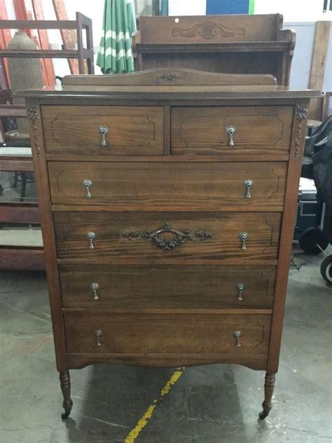antique tall boy dresser antique wooden tall boy dresser with floral design metal ca