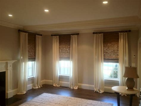 shades with curtains best 25 woven shades ideas on pinterest woven blinds
