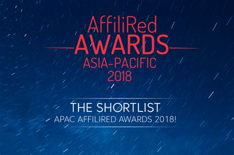shortlist 2018 charity awards charity the shortlist apac affilired awards 2018 affilired