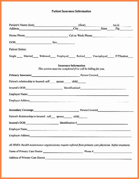 Insurance Form Letters 8 Dental Insurance Verification Form Insurance Letter