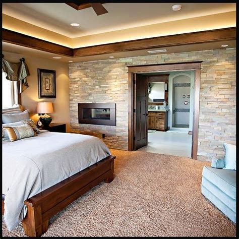 stone wall in bedroom stone wall master bedrooms faux stone wall bedroom