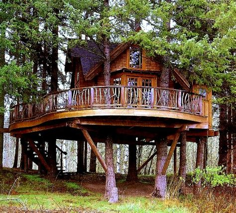 treehouse living fancy treehouses