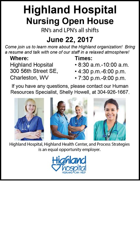Highland Hospital Detox by Nursing Open House