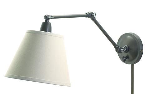 swing arm light house of troy pl20 ob swing arm library wall l