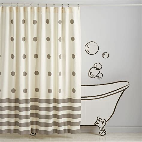 kids bath curtains kids shower curtains and bath mats the land of nod