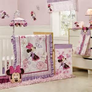 Purple And Grey Crib Bedding Dormitorios Para Beb 233 S Tema Minnie Dormitorios Colores Y