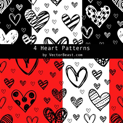 pattern photoshop heart 4 heart patterns photoshop patterns