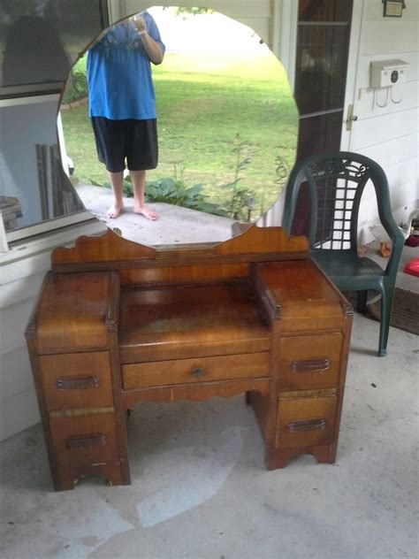 antique vanity table craigslist deco waterfall vanity my antique furniture collection
