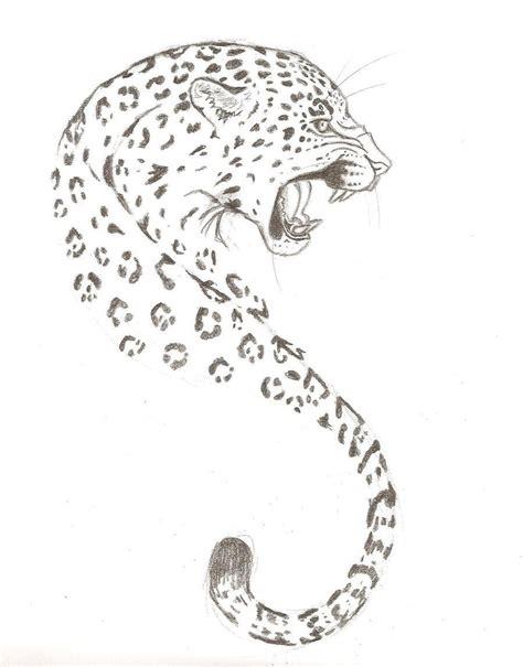 snow leopard tattoo designs leopard this drawing tattoos
