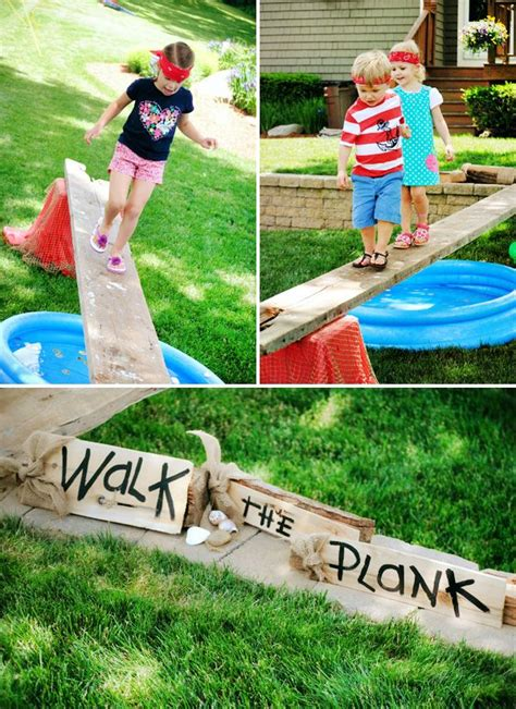 backyard cing party best 20 walking the plank ideas on pinterest
