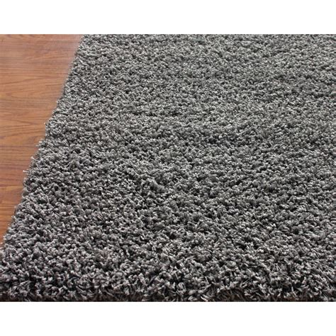 area rug grey nuloom shag gray area rug reviews wayfair
