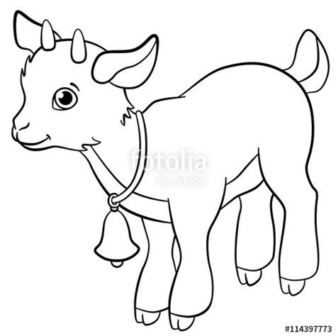 cute farm animals coloring pages quot coloring pages farm animals little cute goatling